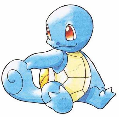 MBTI enneagram type of Squirtle